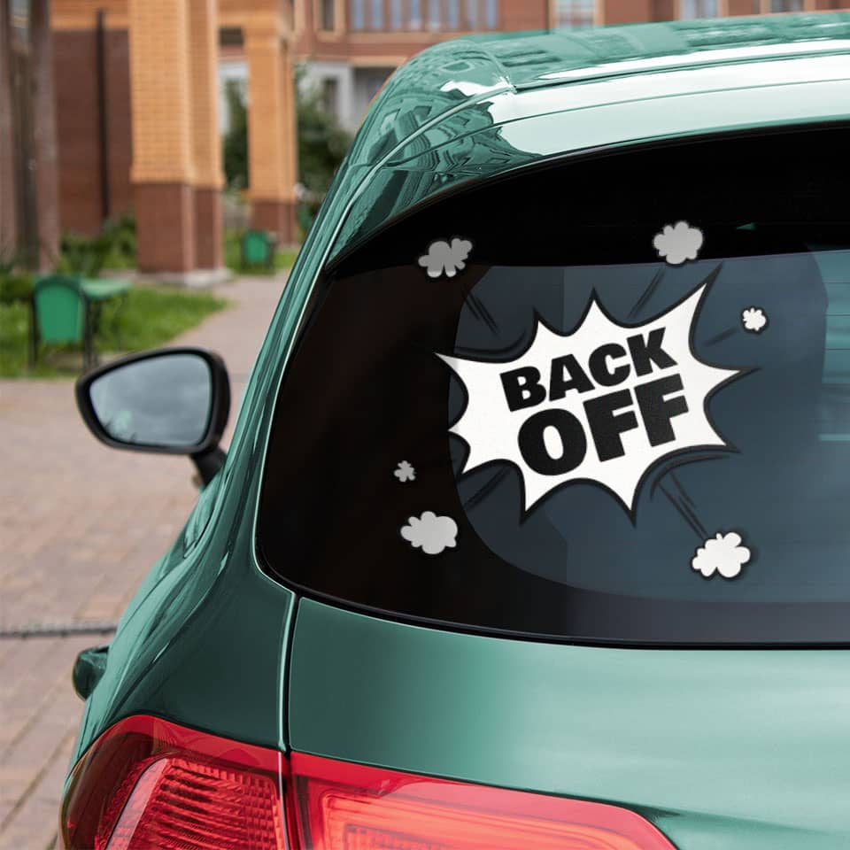 15 Cool And Funny Rear Window Decals And Tips To Lighten