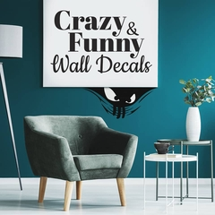 Funny sticker for walls