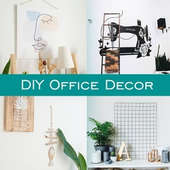 10 Home Office Decorating Ideas on a Budget for the DIYer in You!