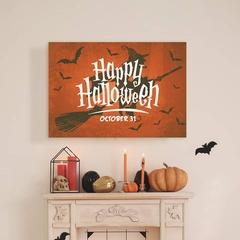 Happy halloween mantel sign