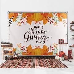 Thanksgiving backdrop banner