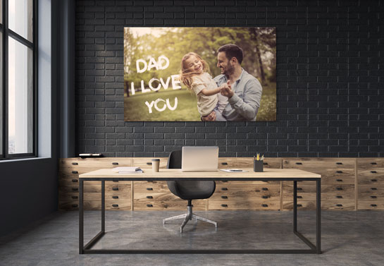 Dad I Love You personalized Father's Day gift