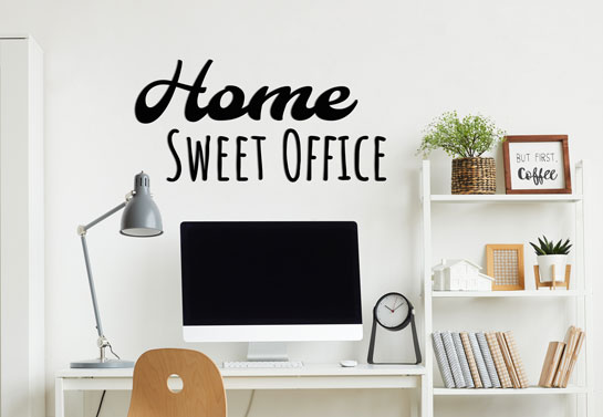 Home sweet office fun home office decorating idea