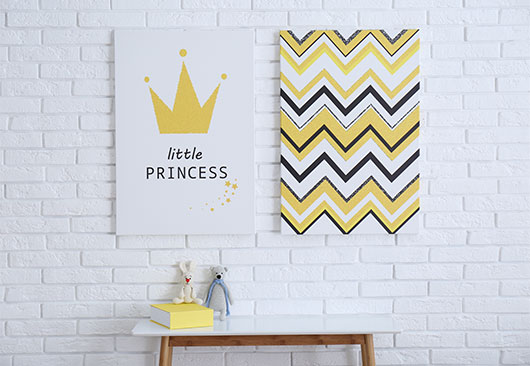 Little Princess cute canvas idea