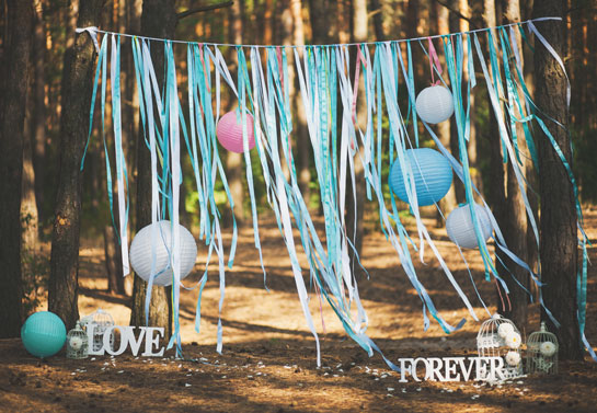 outdoor party decorating ideas on a budget