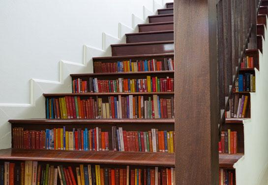 Stair Sticker Bookcase