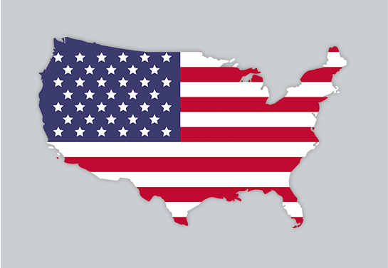 steps to follow for making US flag car decal design