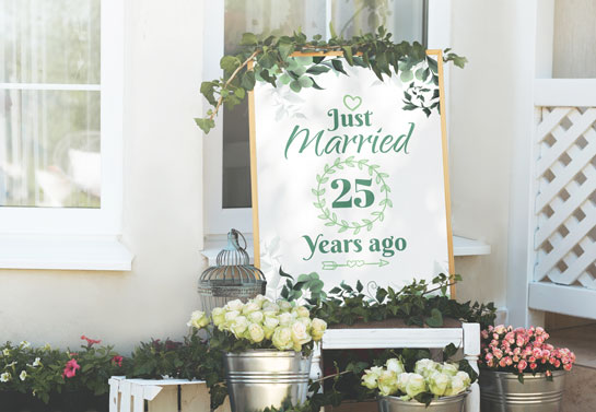 Garden party decoration ideas for wedding anniversary