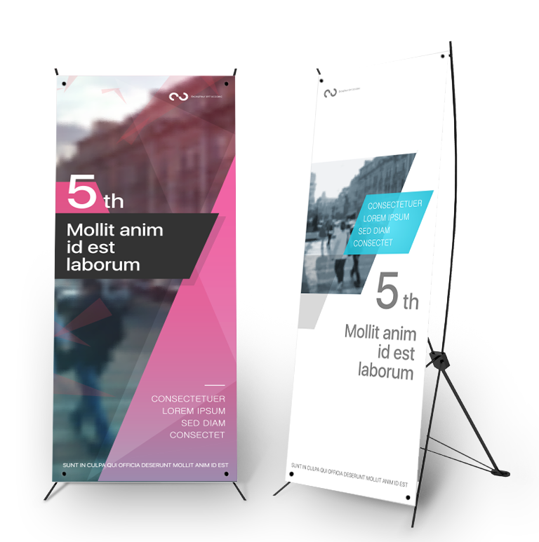 Benefits of x stand banners