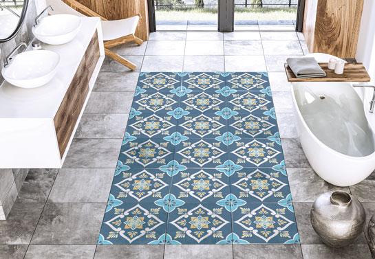 bathroom floor tiles idea