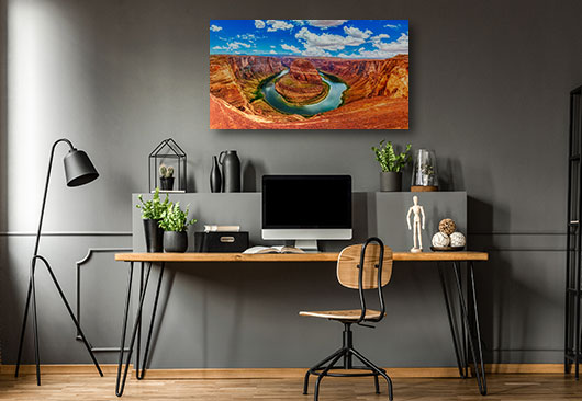 Horse-Shoe Bend in Arizona canvas decor idea