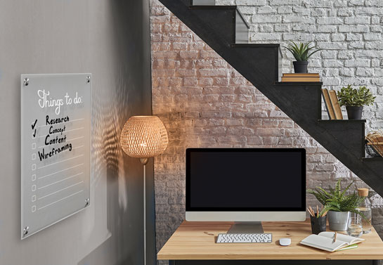 great office decorating idea for corner home office
