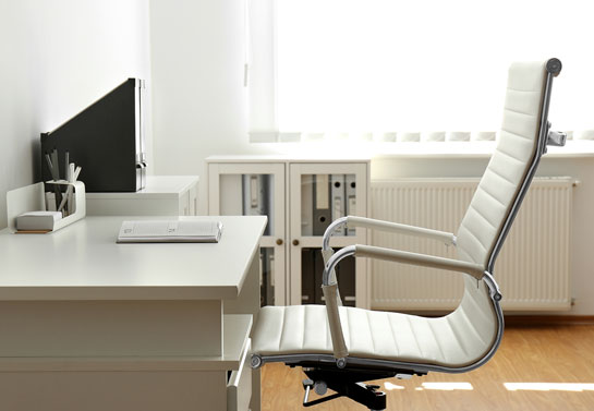elegant home office leather chair