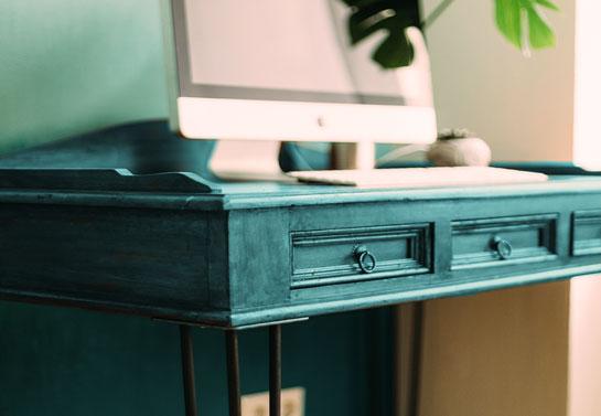 home office diy desk paint decor tip