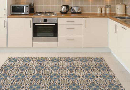 kintchen floor tiles idea