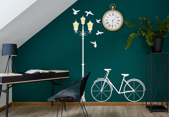 modern wall art for decorating home office