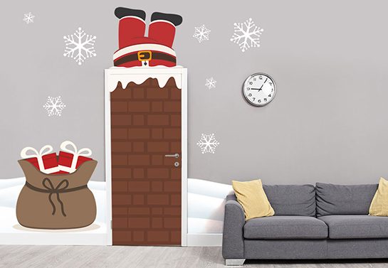 office door christmas decorating idea