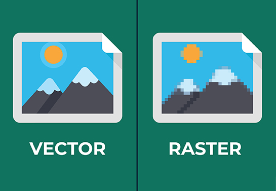 vector vs raster images as best format for printing