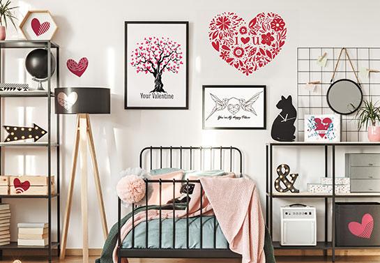 Valentine room decorating ideas