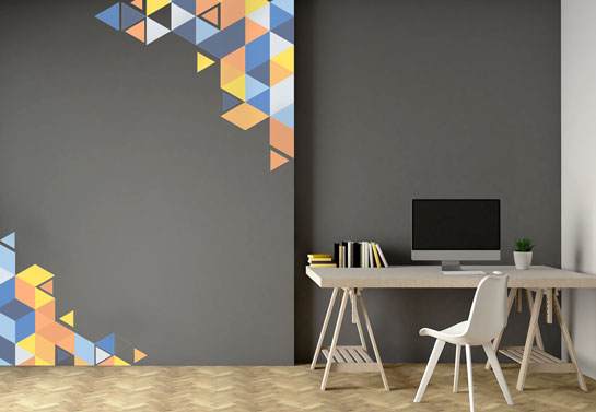 tasteful wall decals for office