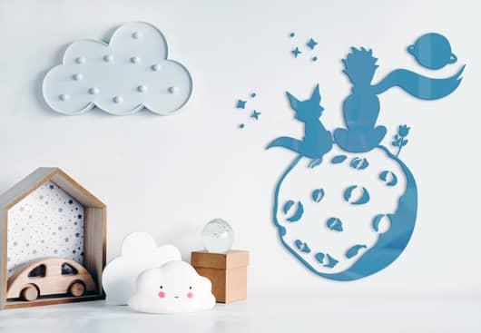 The Little Prince wall decor idea for boys bedroom