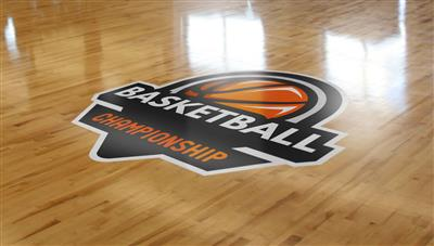 Basktetball Stadium Floor Decal