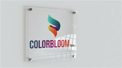 Colorbloom Acrylic Sign