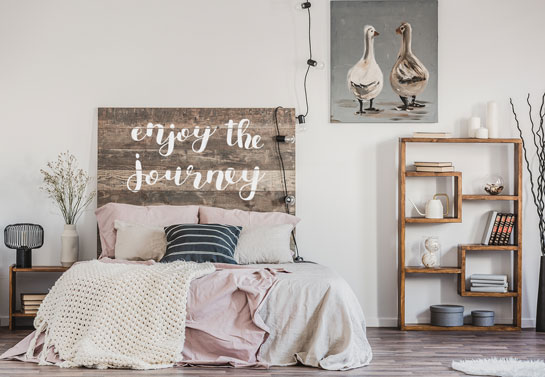 Enjoy the Journey easy DIY wooden project for home