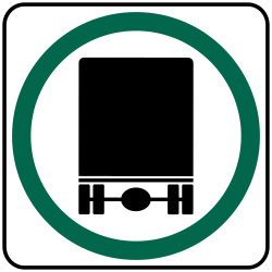 National Network Route sign is for  commercial truck drivers