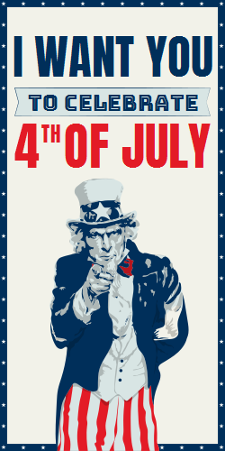 Uncle Sam Wants You To Celebrate 4th Of July
