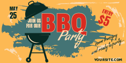 Join us at our BBQ party | Come hungry to party!