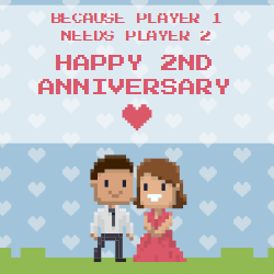 Meaningful template design to celebrate the two year together. this template will enrich the overall decorations and add touch of romance in the air.