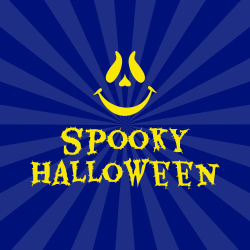 Spooky Halloween template