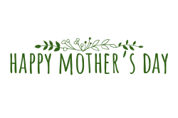 Happy Mother's Day signage template