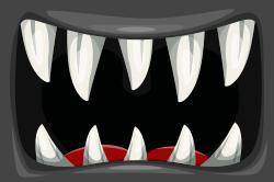 Spooky Halloween sign template
