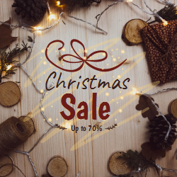 Thematic Templates for Christmas Sales