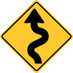 Winding Road Sign | Traffic Regulatory sign