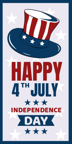 Happy Independence Day | 4th of July Poster