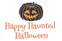 Ready Made Halloween sign template