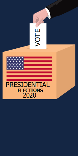 Presidential elections 2020 | Casting the choice into the box