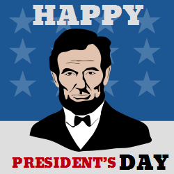 President day | Image of Abraham Lincoln