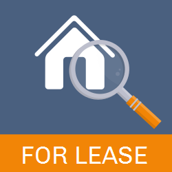 For Lease | House with Magnifying Glass