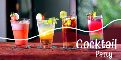 The Ultimate Cocktail Party | Happy hour & Mixer party