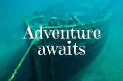 Decorative template about adventure