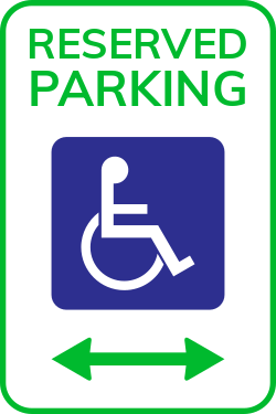 Parking area is already reserved | Reserved Parking