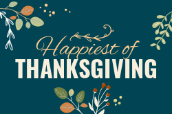 Thanksgiving signage template