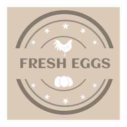 Fresh eggs | Template for your store