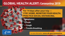 CDC COVID 19 template   Global Health Alert