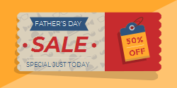 Promotional Template For Father S Day Sale