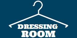 Dressing room | Directional sign | Simple design